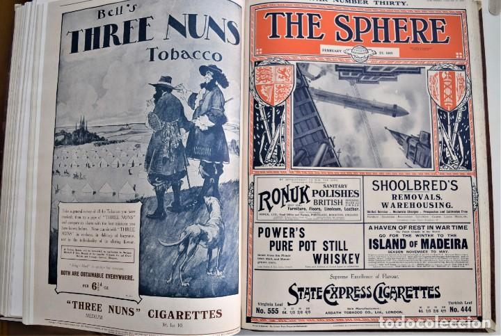 Militaria: THE SPHERE - TOMO CON LOS MESES DE ENERO, FEBRERO Y MARZO 1915 PRIMERA GUERRA MUNDIAL - Foto 22 - 205176848