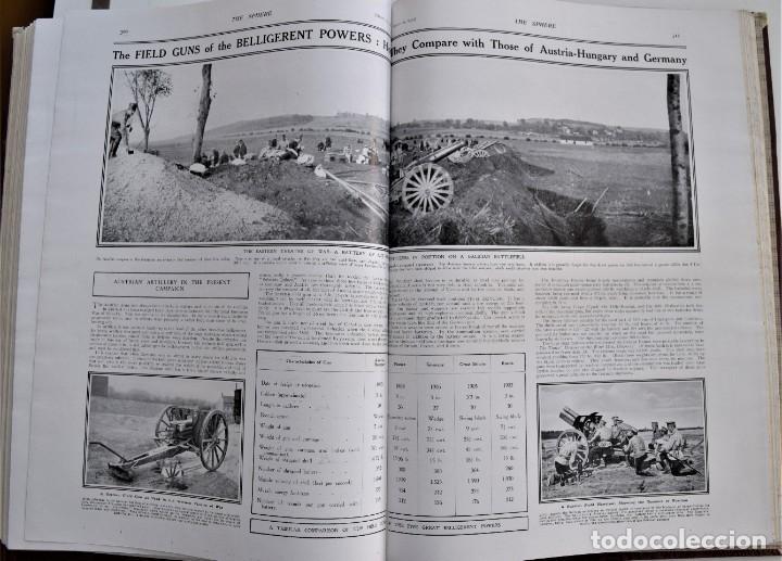 Militaria: THE SPHERE - TOMO CON LOS MESES DE ENERO, FEBRERO Y MARZO 1915 PRIMERA GUERRA MUNDIAL - Foto 24 - 205176848