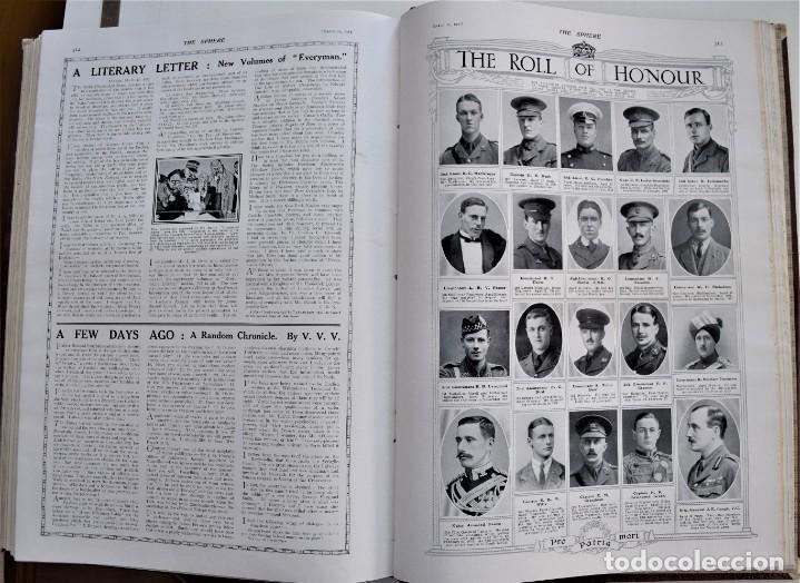 Militaria: THE SPHERE - TOMO CON LOS MESES DE ENERO, FEBRERO Y MARZO 1915 PRIMERA GUERRA MUNDIAL - Foto 25 - 205176848