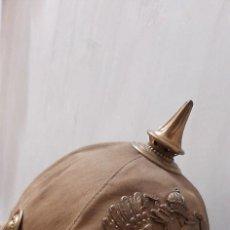 Militaria: CASCO IMPERIO AUSTRIACO DE GENDARMERIA DE CAMPAÑA. Lote 207574937