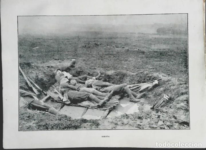 SIESTA, SOLDADOS ALEMANES AGOTADOS DETRAS DEL FRENTE (Militar - I Guerra Mundial)