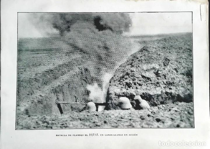 BATALLA DE FLANDES EL 03.07.1917 (Militar - I Guerra Mundial)