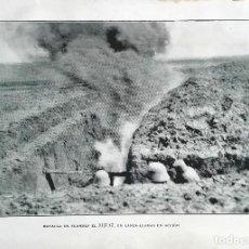 Militaria: BATALLA DE FLANDES EL 03.07.1917. Lote 210539500