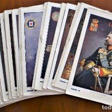 Militaria: LOTE 46 EJEMPLARES LA GUERRA ILUSTRADA - DIRECTOR AUGUSTO RIERA - ENTRE LOS Nº 73 Y 122 - AÑO 1920. Lote 210746979