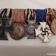 Militaria: PASADOR MEDALLAS ALEMÁN WW1. Lote 210986341