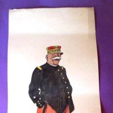 Militaria: GENERAL JOFFRE - I GUERRA MUNDIAL - LITOGRAFÍA. Lote 211579550