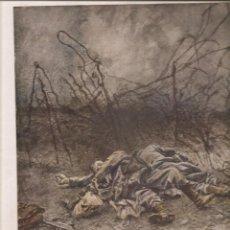 Militaria: 2382. I GUERRA MUNDIAL. ASALTO TRINCHERA 5 DE MAYO DE 1917 (COLINA DE CALIFORNIA) Y OTROS. Lote 211981187