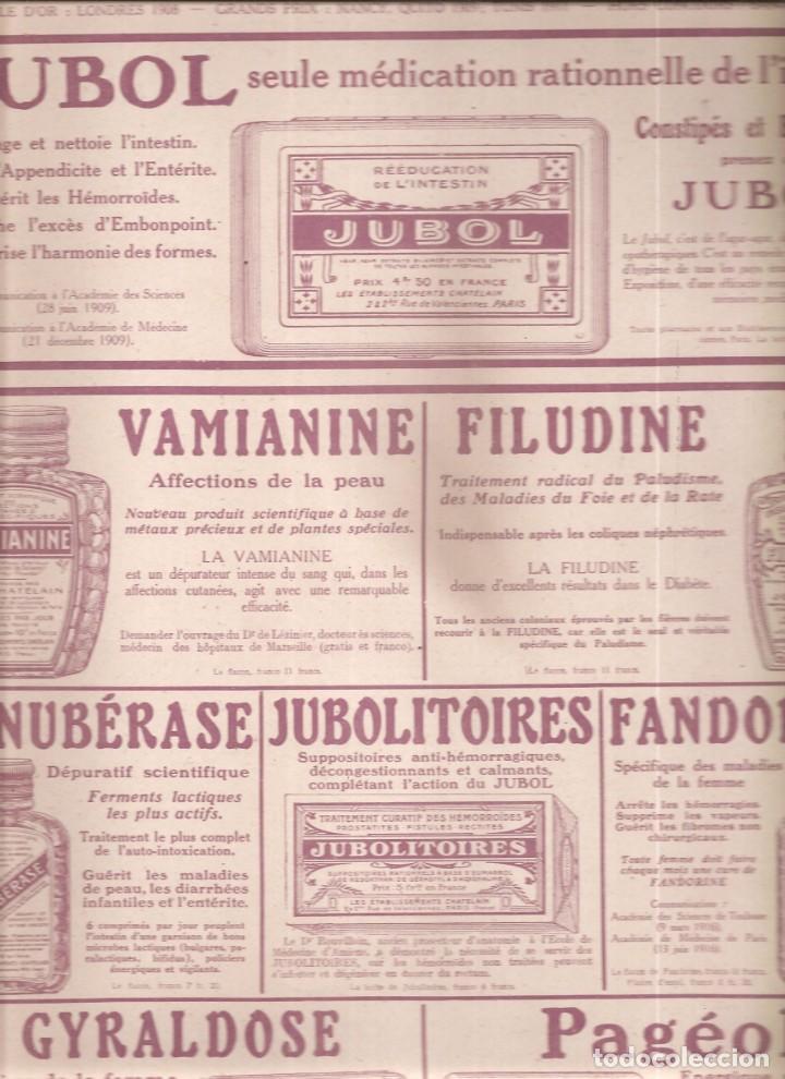 2387. PUBLICIDAD MEDICAMENTOS. 1917 (Militar - I Guerra Mundial)