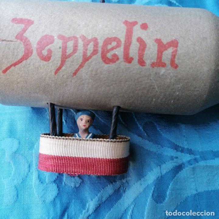Militaria: Zeppelin de juguete alemán años 30 - Foto 3 - 212970152