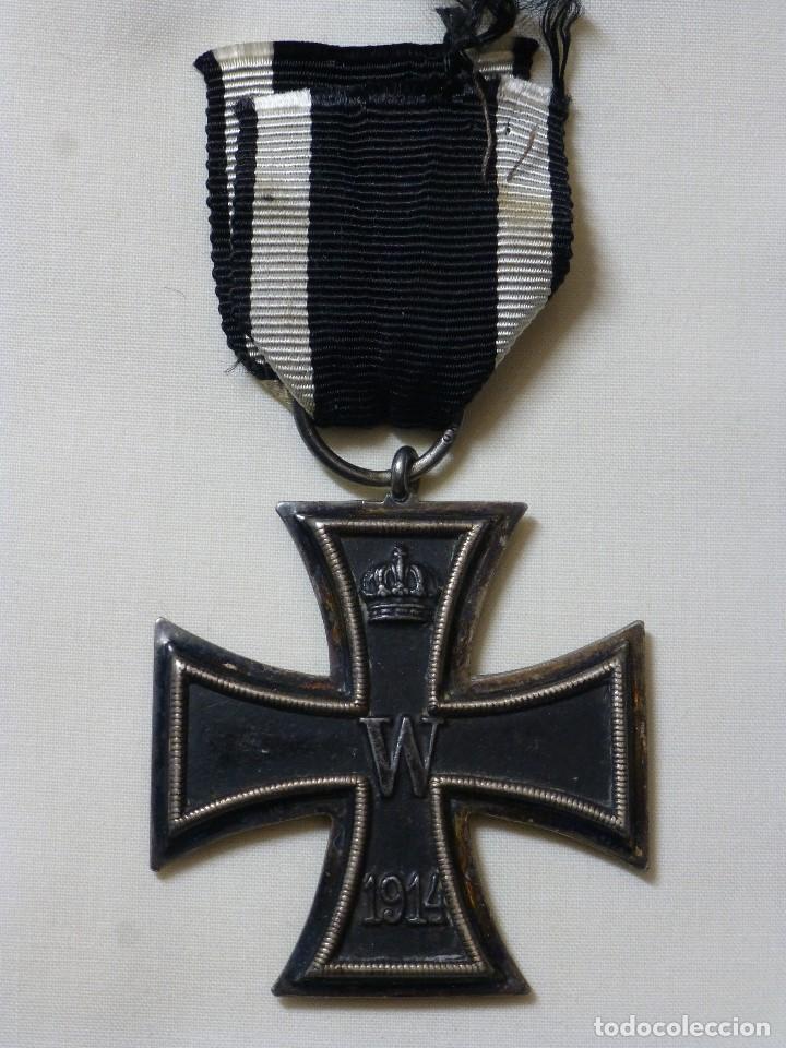 CRUZ DE HIERRO DE 2ª CLASE 1914-18, MARCAJE KO, EXCELENTE CRUZ GRAN GUERRA (Militar - I Guerra Mundial)