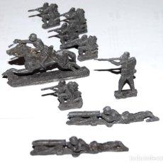Militaria: LOTE 8 SOLDADITOS DE PLOMO ANTIGUOS - ALEMANIA WWI. Lote 219735041