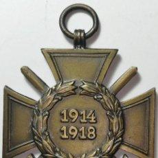 Militaria: CRUZ DE HONOR 1914-1918 PRIMERA GUERRA MUNDIAL. CRUZ DE HINDENBURG.. Lote 220448318