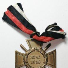 Militaria: CRUZ DE HONOR 1914-1918 PRIMERA GUERRA MUNDIAL. CRUZ DE HINDENBURG.. Lote 220448378