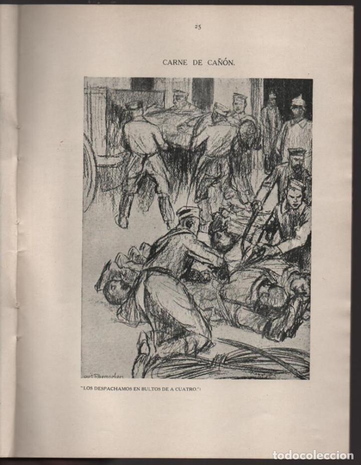 Militaria: CARTONES DE RAEMAEKERS, LAS ATRCIDADES ALEMANAS.- AÑO 1916, 39 PG. VER FOTOS - Foto 7 - 221760103