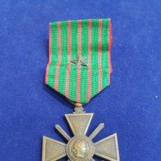 Militaria: FRANCIA CRUZ DE GUERRA 1914 -1918 PRIMERA GUERRA MUNDIAL. Lote 221802786