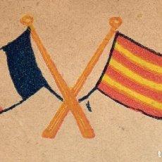 Militaria: 1916 IGNASI IGLESIAS ALS VOLUNTARIS CATALANS QUE VAN ANAR A LLUITAR A LA Iª GUERRA MUNDIAL RARO. Lote 225761912