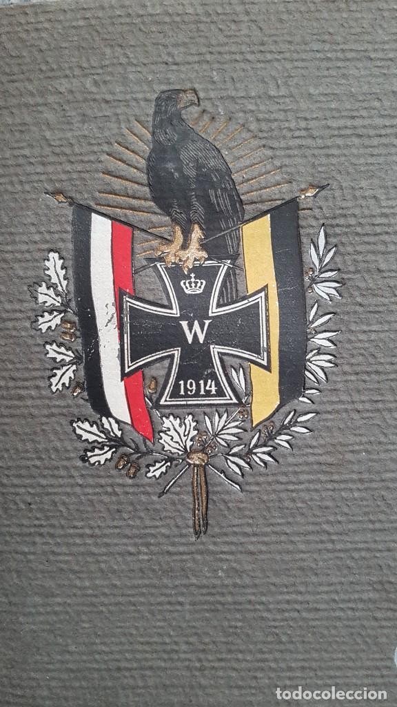 ÁLBUM DE FOTOGRAFÍAS. ALEMANIA PRIMERA GUERRA MUNDIAL (Militar - I Guerra Mundial)