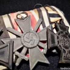 Militaria: PASADOR MEDALLAS WWI. Lote 235874275