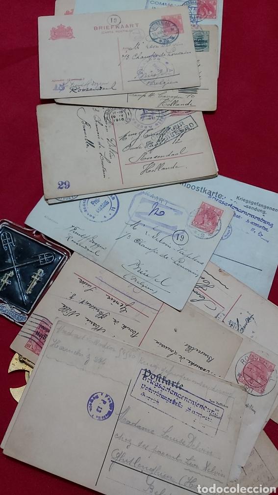 Militaria: LOTE DE PERTENENCIAS COMBATIENTE DE LA PRIMERA GUERRA MUNDIAL BELGA - Foto 4 - 241802350