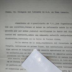 Militaria: ESPIONAJE EN CANARIAS. - RADIO. - CONSULADO DE AUSTRIA HUNGRÍA. - I GUERRA MUNDIAL. 1917.. Lote 241916175