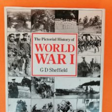 Militaria: PRECIOSO LIBRO THE PICTORIAL HISTORY OF WORLD WAR I -EN IDIOMA INGLÉS-. Lote 253753825