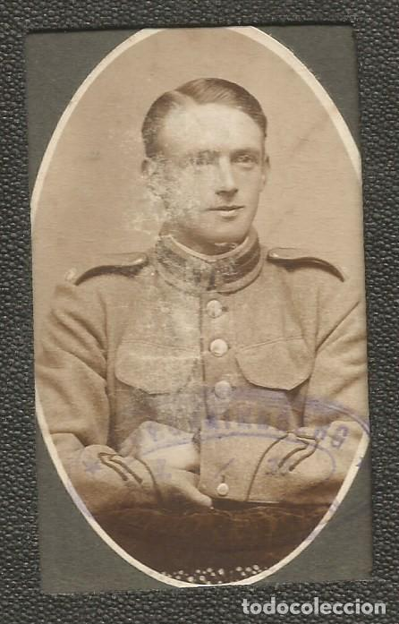 Militaria: ANTIGUO CARNET DE CONDUCIR MILITAR DANES FOTO OFICIAL EJERCITO 1919 1ª GUERRA MUNDIAL FORERBEVIS - Foto 2 - 255961125