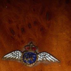 Militaria: PITILLERA TABAQUERA ORIGINAL DE LA R.A.F (ROYAL AIR FORCE) ÉPOCA PRIMERA GUERRA MUNDIAL.. Lote 262952410
