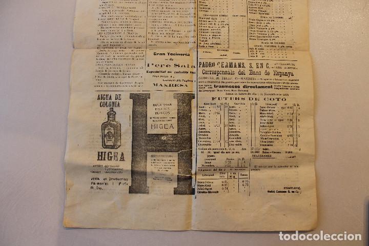 Militaria: BAGES CIUTAT, DIARI DE MANRESA, 1915 - Foto 7 - 263141920