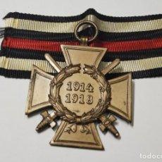 Militaria: MEDALLA CRUZ DEL HONOR PARA COMBATIENTES DE ALEMANIA.PRIMERA GUERRA MUNDIAL. Lote 267206884