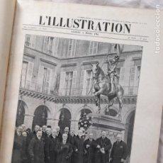 Militaria: L'ILLUSTRATION. PRIMERA GUERRA MUNDIAL. TOMO XV ENCUADERNADO, Nº3809-3825, 1916. Lote 267373694