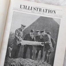 Militaria: L'ILLUSTRATION. PRIMERA GUERRA MUNDIAL. TOMO XVI ENCUADERNADO, Nº3826-3839, 1916. Lote 267375429