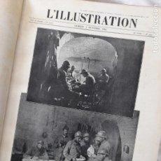 Militaria: L'ILLUSTRATION. PRIMERA GUERRA MUNDIAL. TOMO XVII ENCUADERNADO, Nº3840-3852, 1916. Lote 267378269