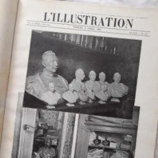 Militaria: L'ILLUSTRATION. PRIMERA GUERRA MUNDIAL. TOMO XI ENCUADERNADO, Nº3761-3773, 1915. Lote 267379559