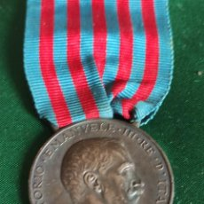 Militaria: MEDALLA GUERRA ITALO TURCA 1912. Lote 269243178