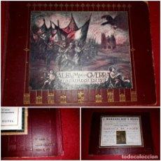 Militaria: ALBUM DE LA GUERRA ( LOS ALIADOS EN 1917 ) A. ARTÍS 1ª EDICIÓN. Lote 271661768