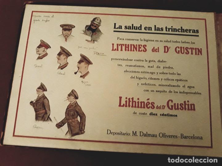 Militaria: Album de la Guerra ( Los Aliados en 1917 ) A. Artís 1ª Edición - Foto 5 - 271661768