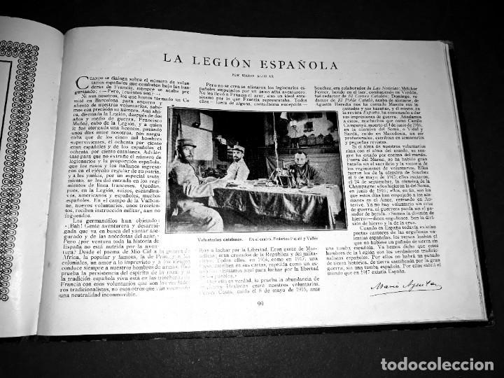 Militaria: Album de la Guerra ( Los Aliados en 1917 ) A. Artís 1ª Edición - Foto 6 - 271661768