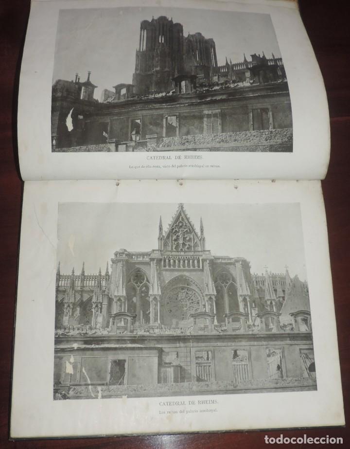 Militaria: SIGUIENDO LAS HUELLAS DEL EJÉRCITO ALEMÁN. THE DAILY CHRONICLE, LONDRES 1915. TAPA DURA, Ilustrado c - Foto 4 - 273625213