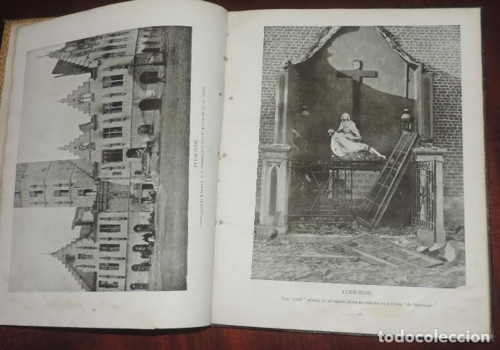 Militaria: SIGUIENDO LAS HUELLAS DEL EJÉRCITO ALEMÁN. THE DAILY CHRONICLE, LONDRES 1915. TAPA DURA, Ilustrado c - Foto 5 - 273625213