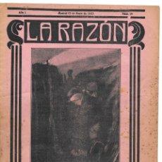 Militaria: 1ª GUERRA MUNDIAL. LA RAZÓN. REVISTA ALIADÓFILA DE 1915. Nº 19. Lote 276174093