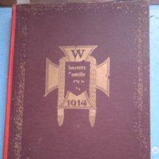 Militaria: LIBRO DE FAMILIA ALEMAN AÑO 1914. Lote 277181178