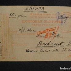 Militaria: POSTAL CIRCULADA RUSIA - ALEMANIA 1ª GUERRA MUNDIAL - PRISIONEROS DE GUERRA,- AÑO 1915. Lote 277418198