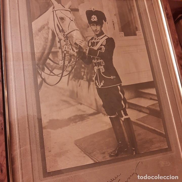 FOTOGRAFÍA DEL PRÍNCIPE GUILLERMO HEREDERO DEL HUSAR GUILLERMO II CON FIRMA (Militar - I Guerra Mundial)