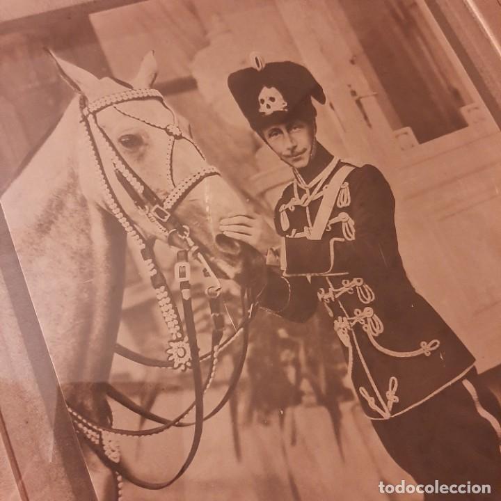 Militaria: Fotografía del Príncipe Guillermo heredero del Husar Guillermo II con firma - Foto 3 - 278423973