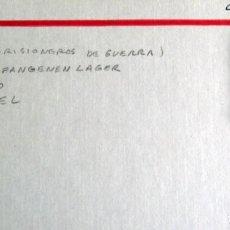 Militaria: ALEMANIA- CASSEL-10 - CAMPO DE PRISIONEROS DE GUERRA. Lote 278794263