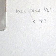 Militaria: ALEMANIA-5- VALE PARA 1/2 L DE CERVEZA. Lote 278794863