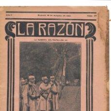 Militaria: 1ª GUERRA MUNDIAL. LA RAZÓN. REVISTA ALIADÓFILA DE 1915. Nº 39. Lote 286488998
