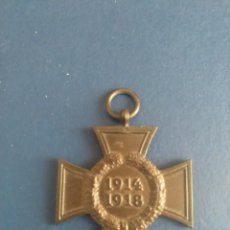 Militaria: CRUZ HEIDENBURG WWI 1914. Lote 288012363