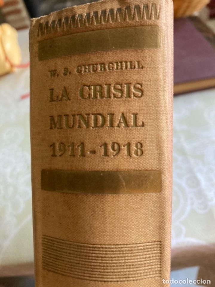 Militaria: Libro la crisis mundial winston churchill - Foto 2 - 288338688