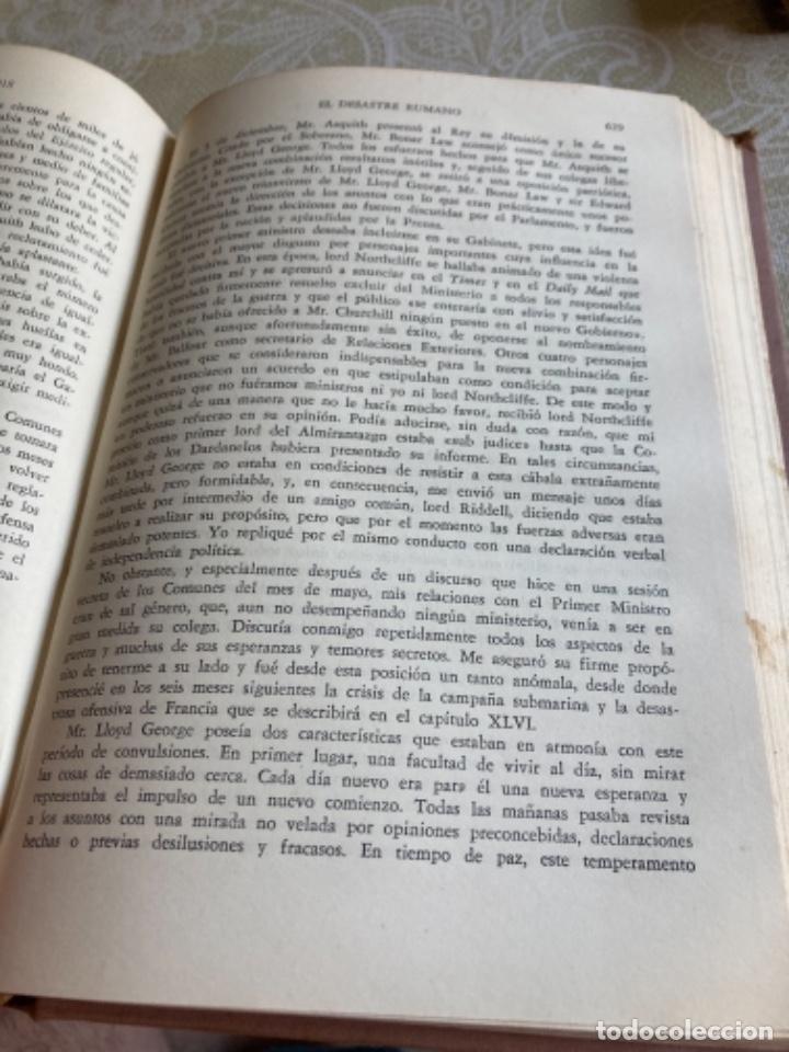Militaria: Libro la crisis mundial winston churchill - Foto 8 - 288338688